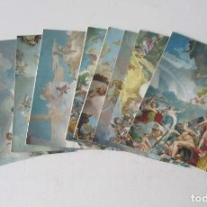 Postales: 9 POSTALES MADRID PALACIO REAL - GRAN TAMAÑO 22X16 CM.. Lote 205174412
