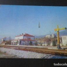 Postales: MIRAFLORES DE LA SIERRA MADRID ESTACION DEL FERROCARRIL. Lote 205371191
