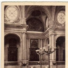 Postales: BONITA POSTAL - MADRID - PALACIO NACIONAL - ESCALERA PRINCIPAL. Lote 205433803