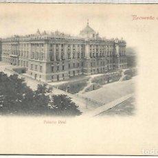 Postales: MADRID PALACIO REAL SIN ESCRIBIR DORSO SIN DIVIDIR. Lote 205524672