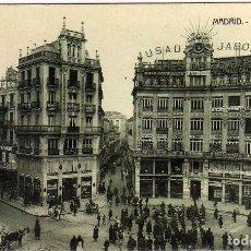 Postales: BONITA POSTAL - MADRID - PLAZA DE CANALEJAS. Lote 205545013