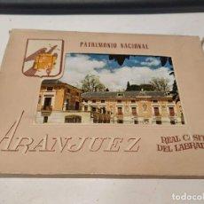 Postales: COMUNIDAD DE MADRID - BLOC DE 9 POSTALES ARANJUEZ - REAL CASITA DEL LABRADOR. Lote 205727866