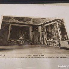 Postales: COMUNIDAD DE MADRID - POSTAL ARANJUEZ - PALACIO - COMEDOR DE GALA. Lote 205728178