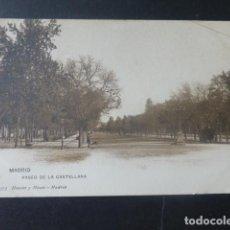 Postales: MADRID PASEO DE LA CASTELLANA HAUSER Y MENET. Lote 205785825