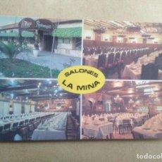 Postales: POSTAL RESTAURANTE LA MINA, PRINCIPE 21, ARANJUEZ-MADRID. Lote 205847887