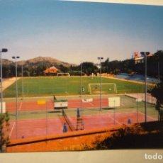 Postales: POSTAL FUTBOL NAVACERRADA - MUNICIPAL DE DEPORTES. Lote 205856400