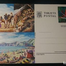 Postales: TARJETA ENTERO POSTAL. PLAYA DE LAS CANTERAS (LAS PALMAS). 8 DE JUNIO DE 1977.. Lote 205856953