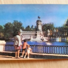 Postales: TARJETA POSTAL - MADRID - ESTANQUE DEL RETIRO - 3 D STEREORAMA. Lote 205886375