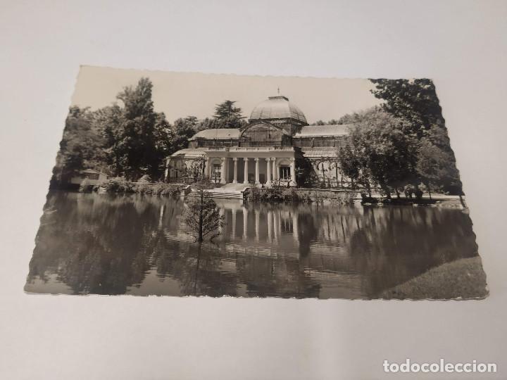 COMUNIDAD DE MADRID - POSTAL MADRID - PARQUE DEL RETIRO - PALACIO DE CRISTAL (Postales - España - Madrid Moderna (desde 1940))
