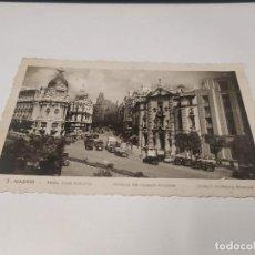 Postales: COMUNIDAD DE MADRID - POSTAL MADRID - AVENIDA JOSÉ ANTONIO. Lote 206904505