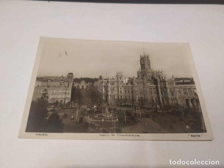 COMUNIDAD DE MADRID - POSTAL MADRID - PALACIO DE COMUNICACIONES (Postales - España - Madrid Moderna (desde 1940))