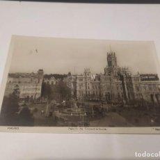 Postales: COMUNIDAD DE MADRID - POSTAL MADRID - PALACIO DE COMUNICACIONES. Lote 206904597