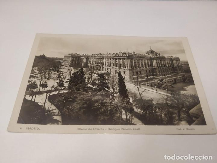 COMUNIDAD DE MADRID - POSTAL MADRID - PALACIO DE ORIENTE (ANTIGUO PALACIO REAL) (Postales - España - Madrid Moderna (desde 1940))
