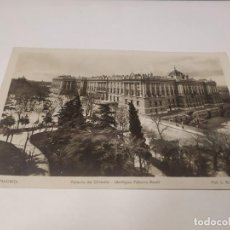 Postales: COMUNIDAD DE MADRID - POSTAL MADRID - PALACIO DE ORIENTE (ANTIGUO PALACIO REAL). Lote 206905190