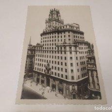 Postales: COMUNIDAD DE MADRID - POSTAL MADRID - PALACIO DE LA TELEFÓNICA. Lote 206905418