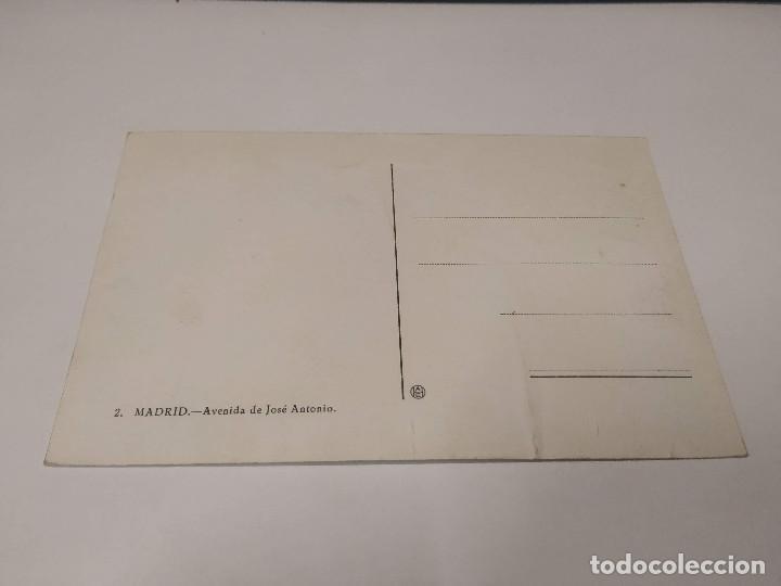 Postales: COMUNIDAD DE MADRID - POSTAL MADRID - AVENIDA DE JOSÉ ANTONIO - Foto 2 - 206905522