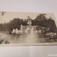 Postales: COMUNIDAD DE MADRID - POSTAL MADRID - ESTANQUE DEL RETIRO. Lote 206905700