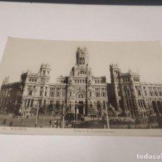 Postales: COMUNIDAD DE MADRID - POSTAL MADRID - PALACIO DE COMUNICACIONES. Lote 206905897