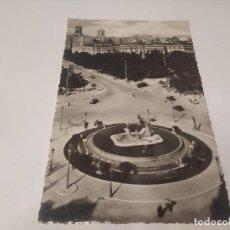 Postales: COMUNIDAD DE MADRID - POSTAL MADRID - VISTA PARCIAL Y FUENTE DE NEPTUNO. Lote 206906488