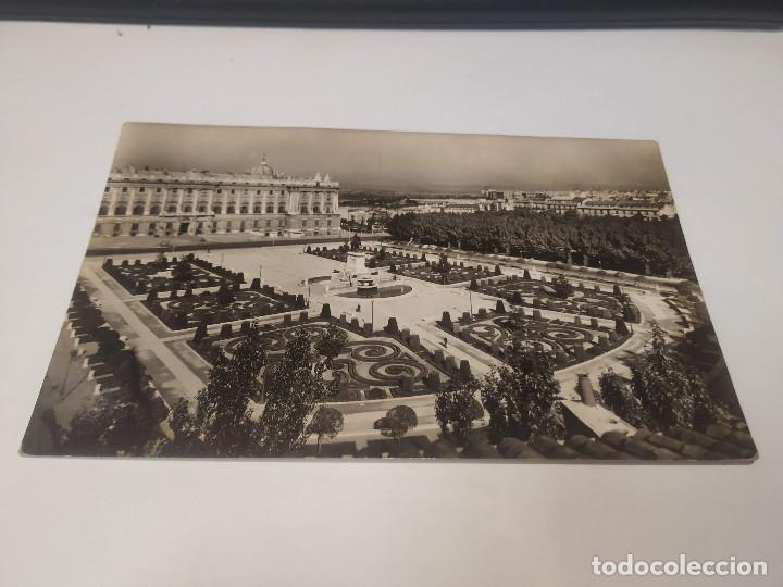 COMUNIDAD DE MADRID - POSTAL MADRID - PALACIO REAL - JARDINES DE SABATINI (Postales - España - Madrid Moderna (desde 1940))
