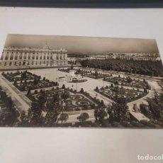 Postales: COMUNIDAD DE MADRID - POSTAL MADRID - PALACIO REAL - JARDINES DE SABATINI. Lote 206906968