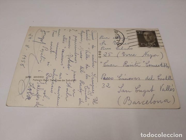 Postales: COMUNIDAD DE MADRID - POSTAL MADRID - PALACIO REAL - JARDINES DE SABATINI - Foto 2 - 206906968