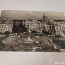 Postales: COMUNIDAD DE MADRID - POSTAL MADRID - PLAZA DE LA CIBELES. Lote 206907165