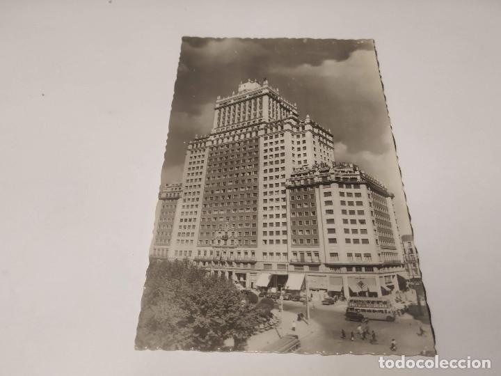 COMUNIDAD DE MADRID - POSTAL MADRID - EDIFICIO ESPAÑA (Postales - España - Madrid Moderna (desde 1940))