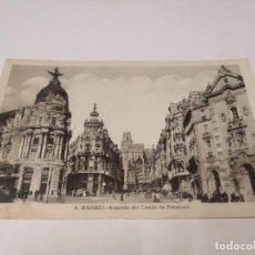 Postales: COMUNIDAD DE MADRID - POSTAL MADRID - AVENIDA DEL CONDE DE PEÑALVER. Lote 206907476