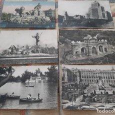 Postales: 6 POSTALES TEMATICA MADRID. AÑOS 50-60. SIN CIRCULAR. GASTOS ENVIO 5 EUROS.. Lote 206911857