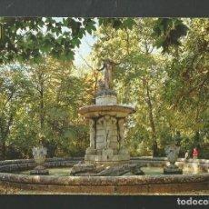 Postales: POSTAL SIN CIRCULAR - ARANJUEZ 36 - JARDIN DEL PRINCIPE - MADRID - EDITA ESCUDO DE ORO. Lote 206936340