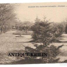 Postales: MADRID .- COLEGIO SAGRADO CORAZON , PARQUE .- EDI. TOURTE & PETITIN. Lote 207096536