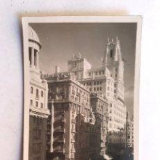 Postales: MADRID. POSTAL FOTOGRAFÍCA ANIMADA PI Y MARGALL. UNIÓN POSTAL UNIVERSAL (H.1910?) CIRCULADA. Lote 207209096