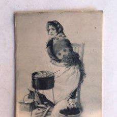 Postales: MADRID. LA CASTAÑERA, EDICION HAUSER Y MENET (H.1900?) S/C. Lote 207209817