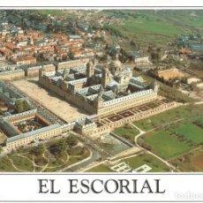 Postales: [POSTAL] VISTA AÉREA. MONASTERIO SAN LORENZO DE EL ESCORIAL (MADRID) (S/ CIRCULAR). Lote 207221816