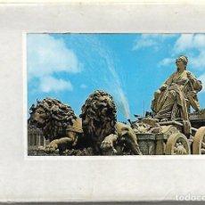 Postales: LIBRETO CON DIEZ POSTALES DE MADRID. Lote 207228648