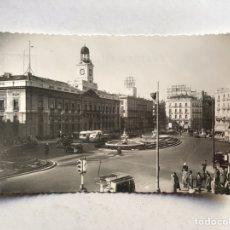 Postales: MADRID. POSTAL ANIMADA NO.1112, PUERTA DEL SOL, EDIC. POSTAL MADRID (A.1954) S/C.. Lote 207254090