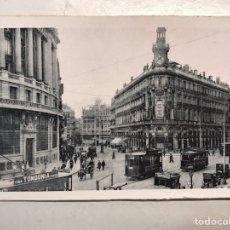 Postales: MADRID. POSTAL ANIMADA, CALLES DE ALCALA Y SEVILLA. FOTOTIPIA HAUSER Y MENET (H.1940?) S/C. Lote 207339102
