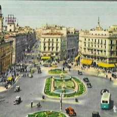 Postales: POSTAL PANORÁMICA * MADRID , PUERTA DEL SOL * 206. Lote 207623756
