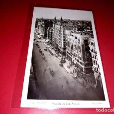 """Postales: MADRID """" AVENIDA DE JOSÉ ANTONIO """" ESCRITA Y SELLADA 1940. Lote 207660386"""