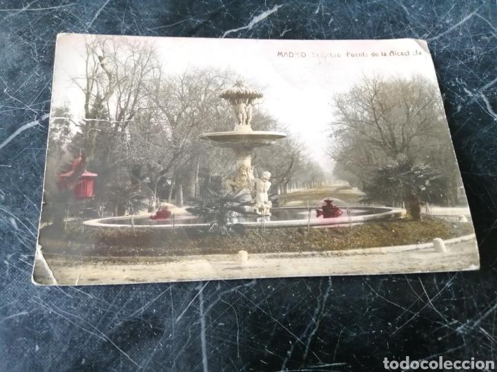 MADRID. EL RETIRO. FUENTE DE LA ALCACHOFA. COLOREADA. 166-THOMAS.BARCELONA. (Postales - España - Comunidad de Madrid Antigua (hasta 1939))