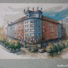 Postales: POSTAL HOTEL CASTELLANA MADRID NUEVA. Lote 208139410