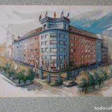 Postales: POSTAL HOTEL CASTELLANA MADRID NUEVA. Lote 208139458