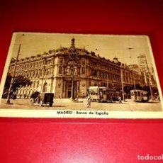 """Postales: POSTAL MADRID """" BANCO DE ESPAÑA """" SIN CIRCULAR. Lote 209248617"""