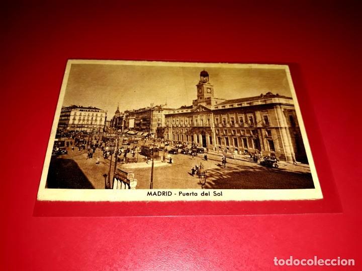 """POSTAL MADRID """" PUERTA DEL SOL """" SIN CIRCULAR (Postales - España - Comunidad de Madrid Antigua (hasta 1939))"""