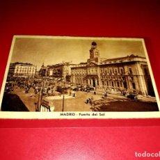 "Postales: POSTAL MADRID "" PUERTA DEL SOL "" SIN CIRCULAR. Lote 209250746"