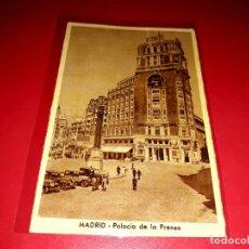 """Postales: POSTAL MADRID """" PALACIO DE LA PRENSA"""" SIN CIRCULAR. Lote 209251557"""