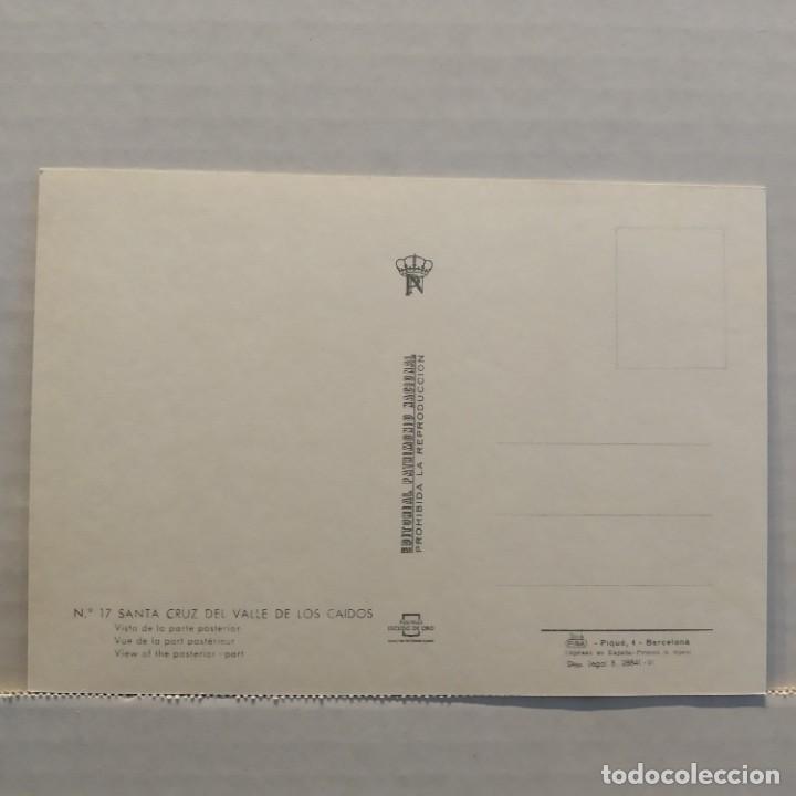 Postales: Lote de 14 postales PATRIMONIO NACIONAL, Valle de los Caídos, Escorial y Aranjuez, Escudo de Oro - Foto 3 - 209614250
