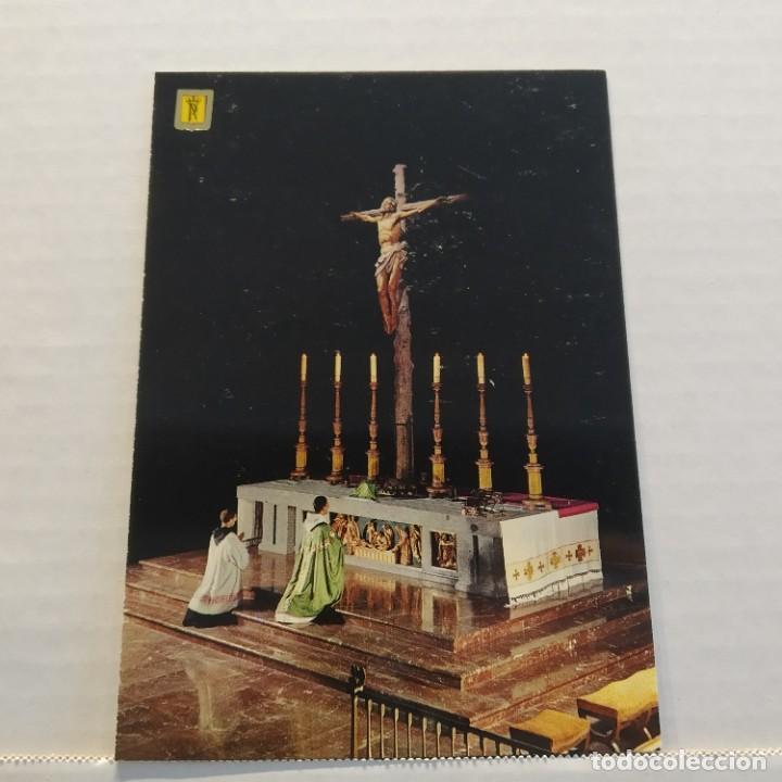 Postales: Lote de 14 postales PATRIMONIO NACIONAL, Valle de los Caídos, Escorial y Aranjuez, Escudo de Oro - Foto 4 - 209614250