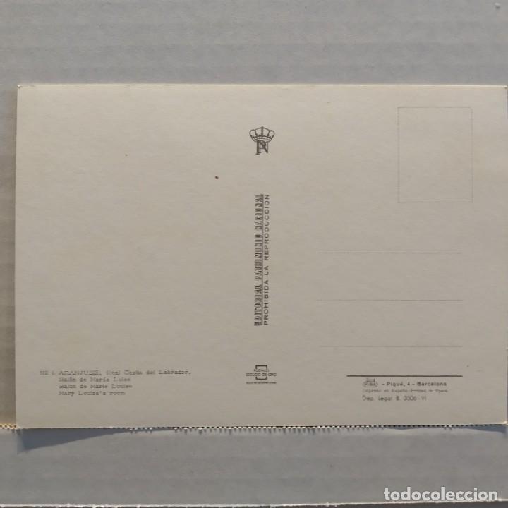 Postales: Lote de 14 postales PATRIMONIO NACIONAL, Valle de los Caídos, Escorial y Aranjuez, Escudo de Oro - Foto 15 - 209614250